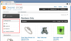 Hire dedicated X-cart developer for category page customization