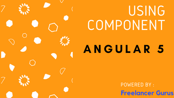 How to call one component function into another component in angular 5?